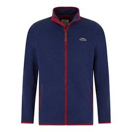Herman Soft Knit Jacket Maritime Blue