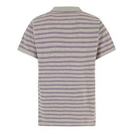 Belsay Stripe Polo Grey