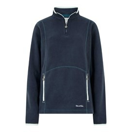 Christie 1/4 Zip Microfleece Dark Navy