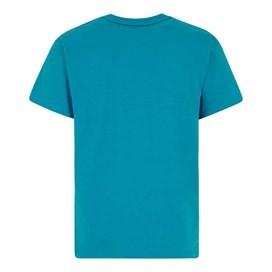 Bang Branded Logo Crew Tee Blue Jay Marl
