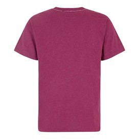 Bang Branded Logo Crew Tee Boysenberry Marl