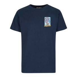 Red Sparrows Artist T-Shirt Maritime Blue