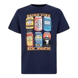 Six Pack Artist T-Shirt Maritime Blue