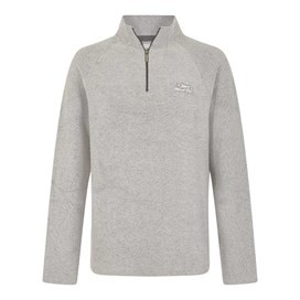 Helm Siera 1/4 Zip Soft Knit Grey