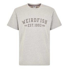 Bang Branded Logo Crew Tee Grey Marl