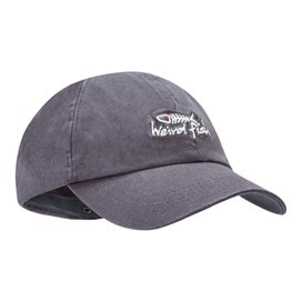 Retro Bones Embroidered Cap Pewter