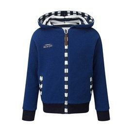 Dayton Reverseable Hooded Fleece Jacket Deep Ocean