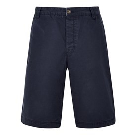 Hiram Cotton Twill Shorts Black Iris