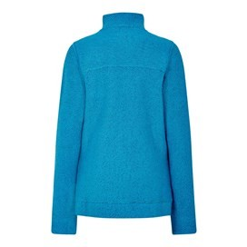 Eartha Full Zip Sierra Knit Blue Sapphire