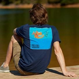 Piranha Artist T-Shirt Maritime Blue