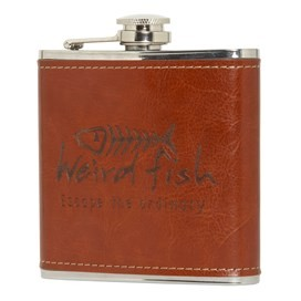 Newcastle Thermal Hipflask Tan