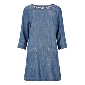 Shennoy Plain Tencel ® Tunic Light Denim
