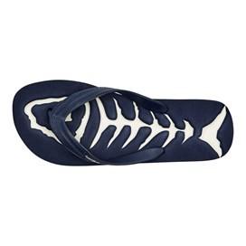 Firestar Bones Logo Flip Flop Maritime Blue