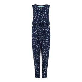 Shawnee Printed Viscose Jumpsuit Midnight