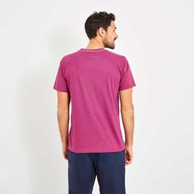 Explorer Branded Tee Boysenberry Marl