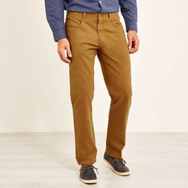 Albert Heavy Wash Casual Trouser Antique Tan
