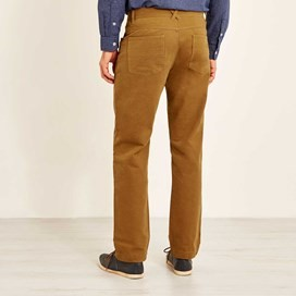 Albert Heavy Wash Casual Trouser Antique Tan