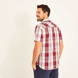 Jennings MicroSand Check Shirt Rose