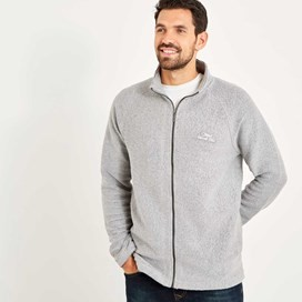 Helmstead Full Zip Seira Knit Grey