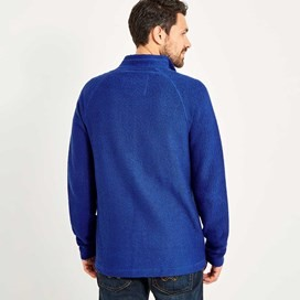 Helmstead Full Zip Seira Knit Deep Ocean