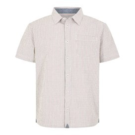 Ayr Dobby Short Sleeve Shirt Brick Red