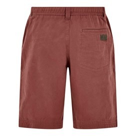 Gifford Cotton Twill Shorts Oxblood