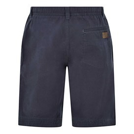 Gifford Cotton Twill Shorts Black Iris