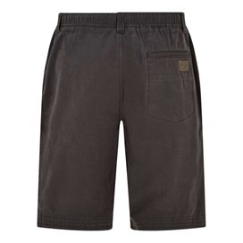Gifford Cotton Twill Shorts Washed Black