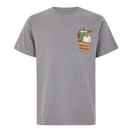 Curry Monster Artist T-Shirt Grey