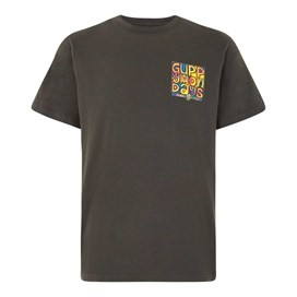Guppy Mondays Artist T-Shirt Washed Black