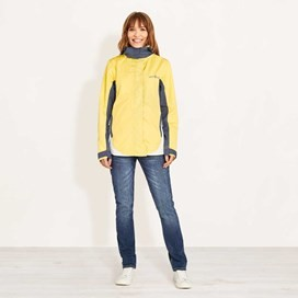 Skyline Waterproof Shell Jacket Lemon Yellow