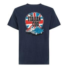 Italian Cod Artist T-Shirt Black Iris