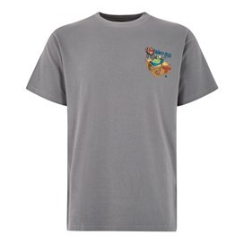 Tanked Up Artist T-Shirt Grey