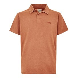 Tyrie Branded Polo Brick Orange Marl