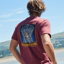 Game Of Bones Artist T-Shirt Oxblood