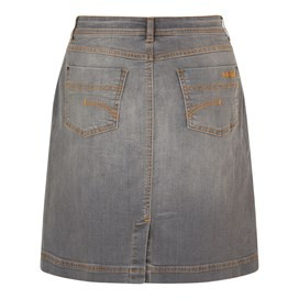 Ria Denim Skirt Grey Wash