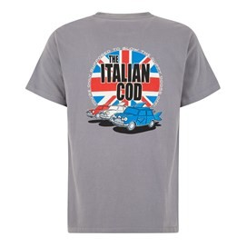 Italian Cod Artist T-Shirt Grey