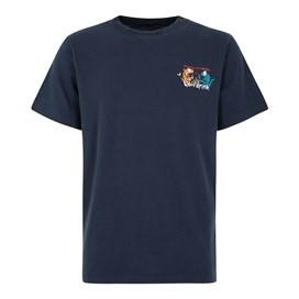 Fished As A Newt Artist T-Shirt Black Iris