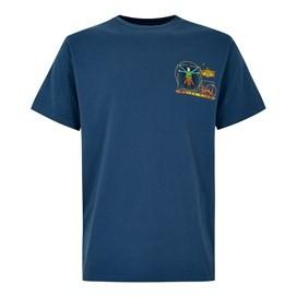 Dogtruvian Artist T-Shirt Ensign Blue