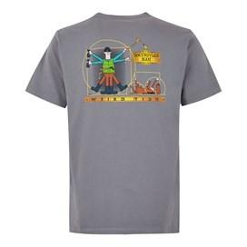 Dogtruvian Artist T-Shirt Grey