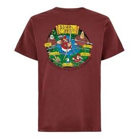 Robin Hood Artist T-Shirt Oxblood