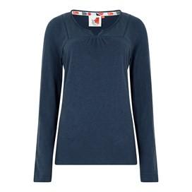 Walkabout Slub Cotton T-Shirt Dark Navy