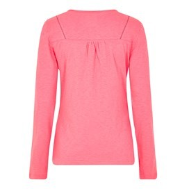 Walkabout Slub Cotton T-Shirt Hot Pink