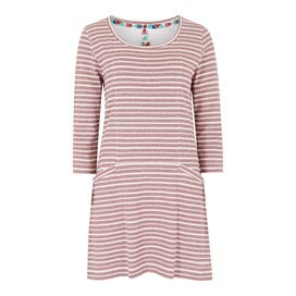 Arlo Jacquard Stripe Tunic Winter Berry