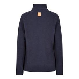 Damla Full Zip Macaroni Sweatshirt Dark Navy