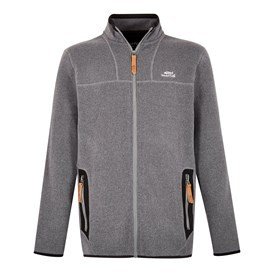 Lindauer Full Zip Soft Knit Fleece Grey