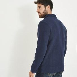 Birch Full Zip Lined Macaroni Sweatshirt Black Iris