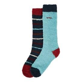 Park Fluffy Sock 2-Pack Aqua Marine