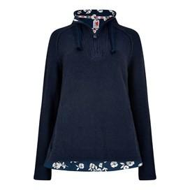 Constantine 1/4 Zip Macaroni Sweatshirt Dark Navy