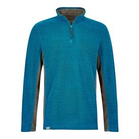 Stanford 1/4 Zip Active Macaroni Sweatshirt Blue Jay